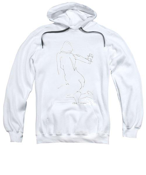 Nude Female Drawings 8 Sweatshirt
