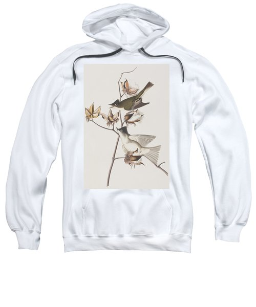 Pewit Flycatcher Sweatshirt by John James Audubon