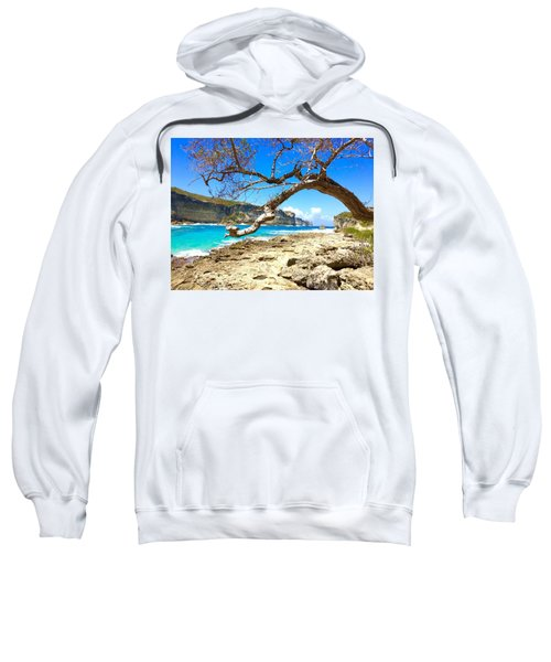 Sweatshirt featuring the photograph Porte D Enfer, Guadeloupe by Cristina Stefan