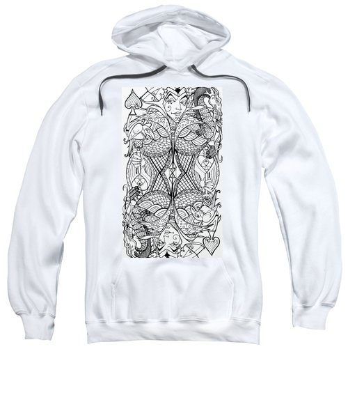 Queen Of Spades 2 Sweatshirt
