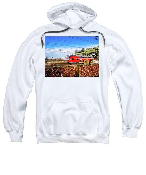 Red Train Sweatshirt