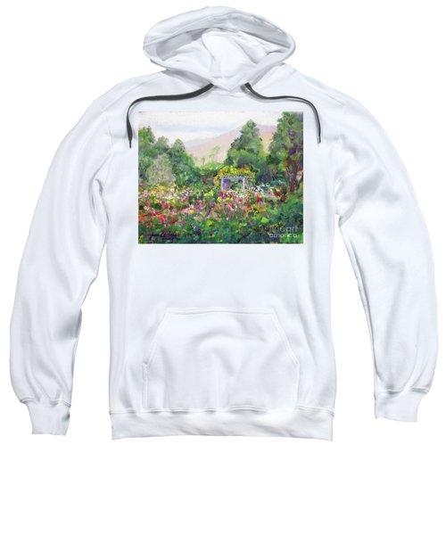 Rose Garden In Bloom Sweatshirt
