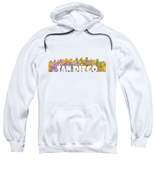 San Diego California Skyline Sweatshirt