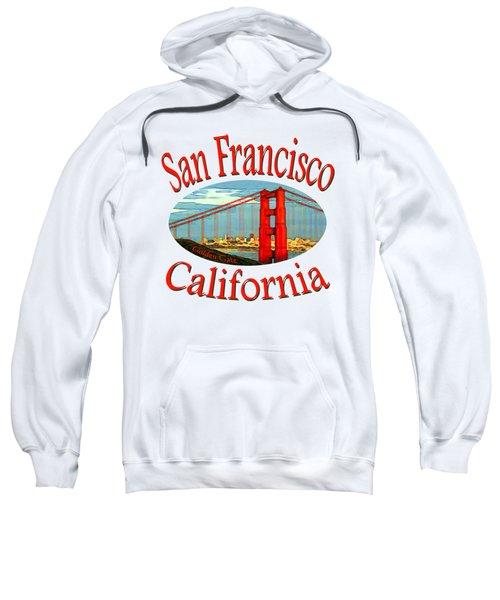 San Francisco California Design Sweatshirt
