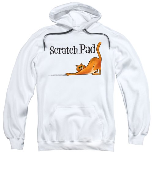 Scratchy Cat Sweatshirt