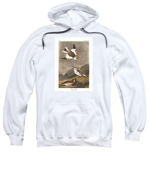 Snow Bunting Sweatshirt by Anton Oreshkin