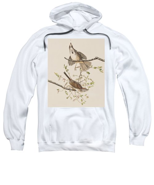 Song Sparrow Sweatshirt by John James Audubon