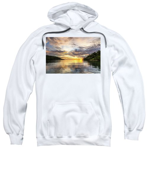 Stunning Sunset In The Togian Islands In Sulawesi Sweatshirt