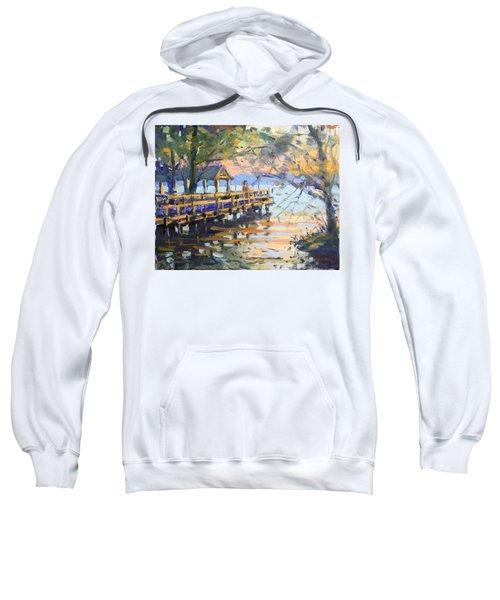 Sunset At Fishermans Park Sweatshirt