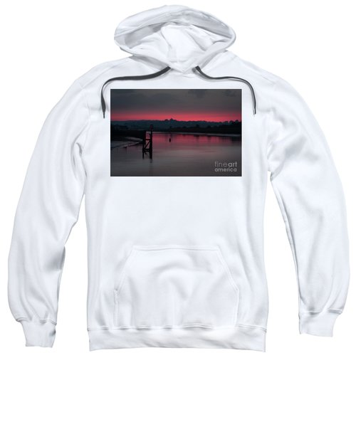 Sunset On The River Sweatshirt