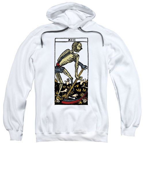Tarot Card Death Sweatshirt