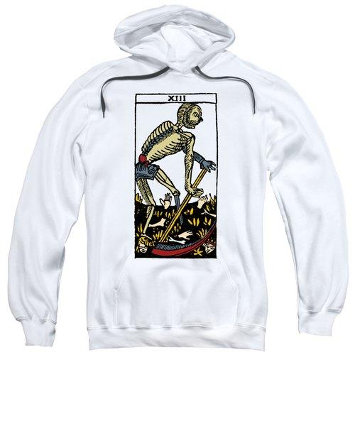 Tarot Card Death Sweatshirt
