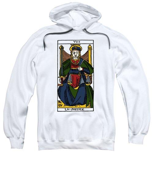 Tarot Card Justice Sweatshirt