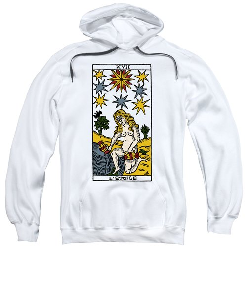 Tarot Card The Stars Sweatshirt