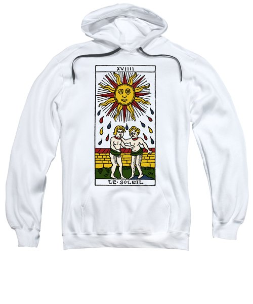Tarot Card The Sun Sweatshirt