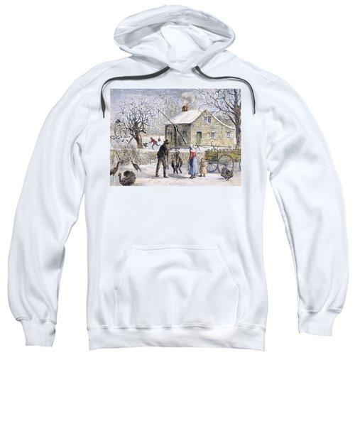 Thanksgiving, 1882 Sweatshirt