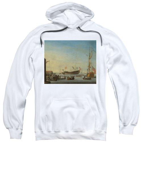 The Launch Of A Man Of War Sweatshirt