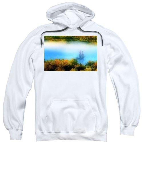 Sweatshirt featuring the photograph Through The Fog by Scott Kemper
