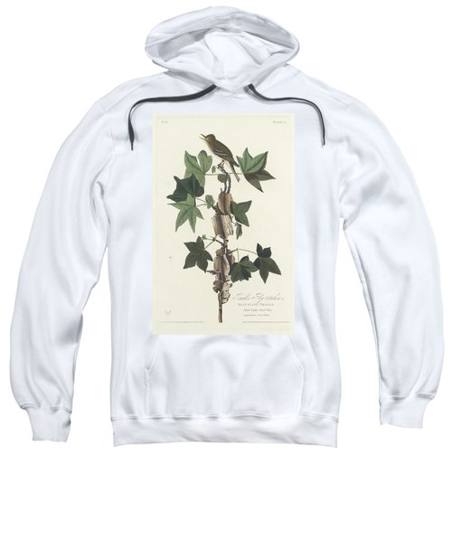 Traill's Flycatcher Sweatshirt by John James Audubon