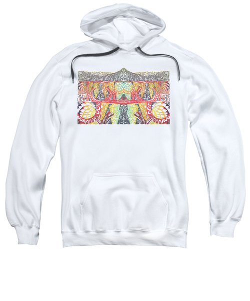 Tribal Mountain Sweatshirt