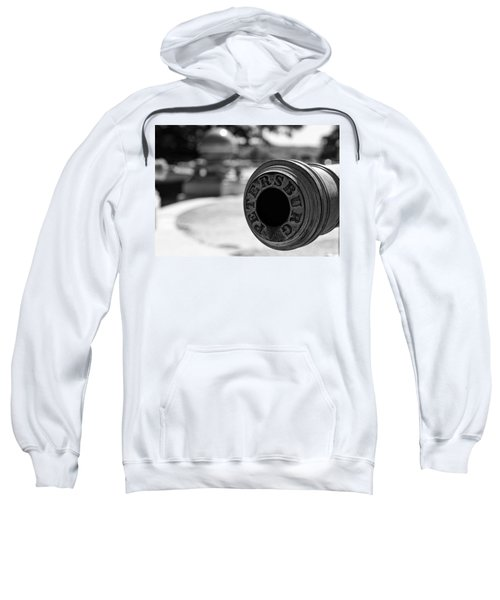Trophy Point Cannon  Sweatshirt
