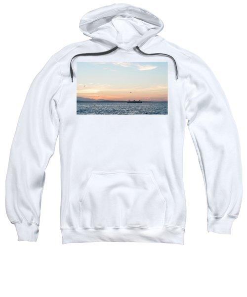 Twilight In Puget Sound Sweatshirt