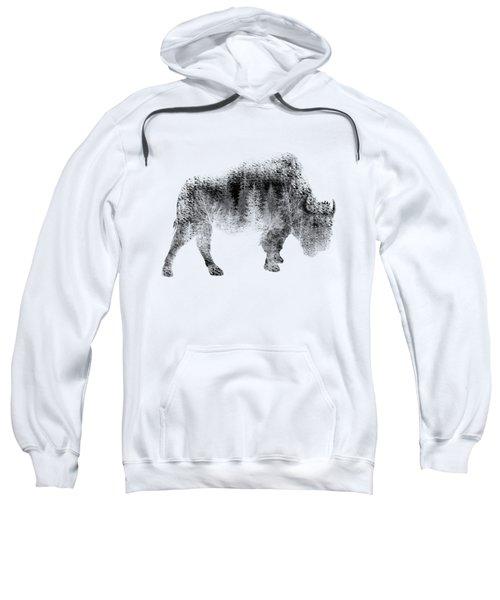 Wild Bison Sweatshirt by Diana Van