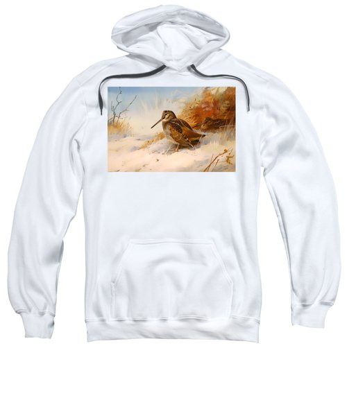 Winter Woodcock Sweatshirt by Mountain Dreams