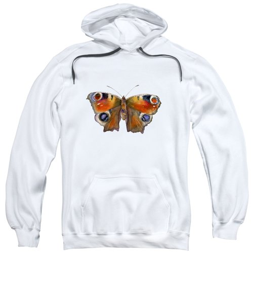 10 Peacock Butterfly Sweatshirt
