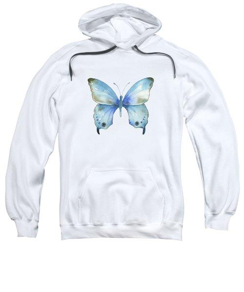 #109 Blue Diana Butterfly Sweatshirt