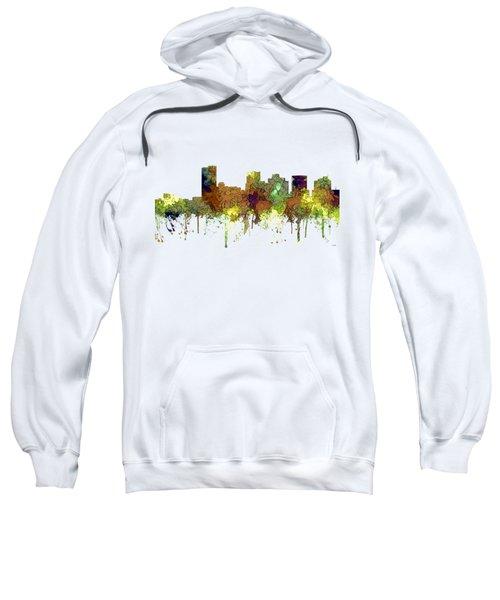 Phoenix Arizona Skyline Sweatshirt by Marlene Watson