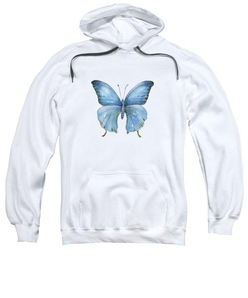 111 Blue Elijah Butterfly Sweatshirt