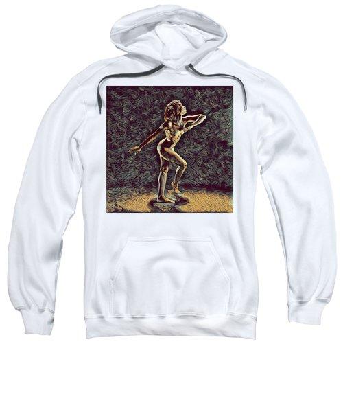 1192s-zac Nudes In The Style Of Antonio Bravo  Sweatshirt