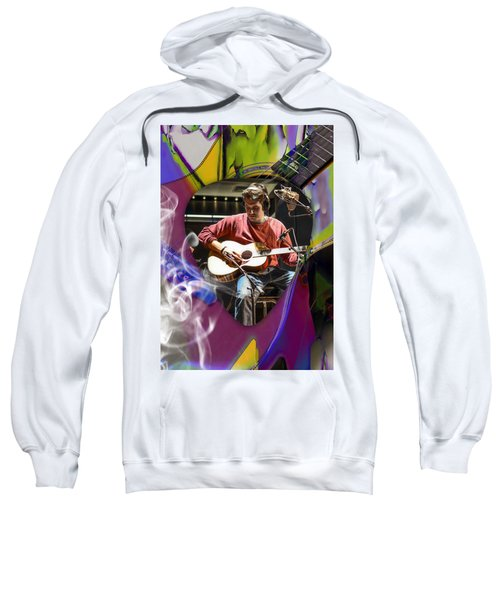 John Mayer Art Sweatshirt by Marvin Blaine