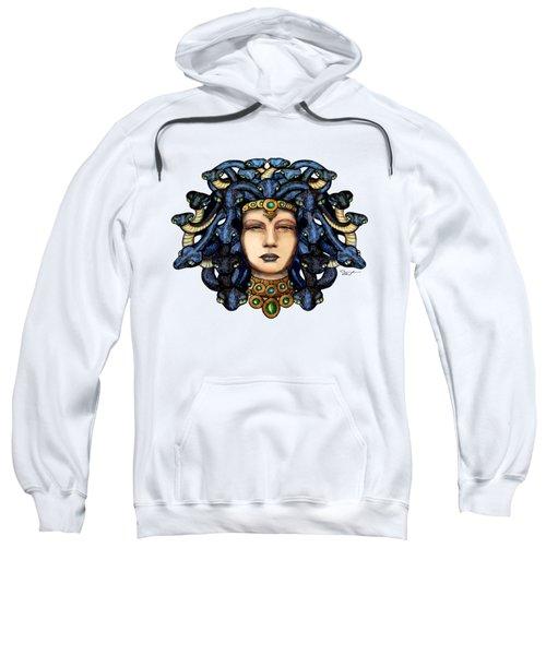 16x20 Medusa 2 Blu Gold Sweatshirt