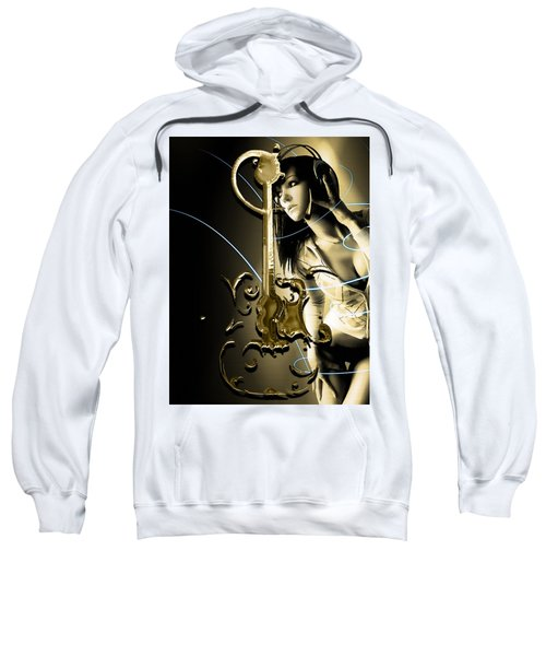Acoustic Guitar Collection Sweatshirt by Marvin Blaine