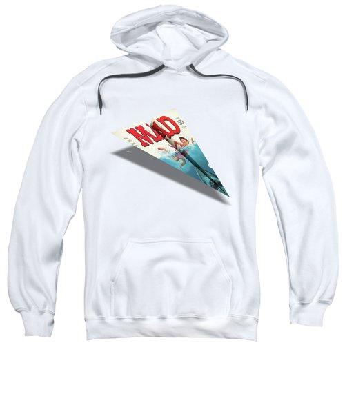 180 Mad Paper Airplanes Sweatshirt