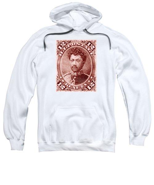 1883 Hawaiian Prince Leleiohoku Stamp Sweatshirt