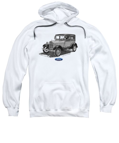Model A Ford 2 Door Sedan Sweatshirt