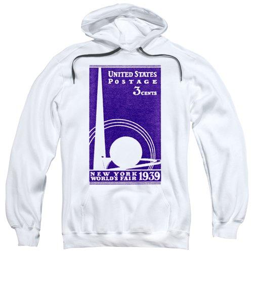 1939 New York Worlds Fair Stamp Sweatshirt