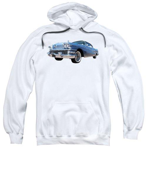 1958 Buick Roadmaster 75 In A Blue Mood Sweatshirt