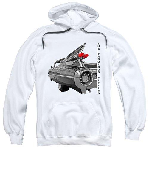 1959 Cadillac Tail Fins Sweatshirt