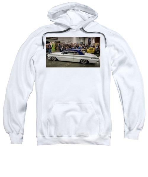 Sweatshirt featuring the photograph 1962 Buick Skylark by Randy Scherkenbach