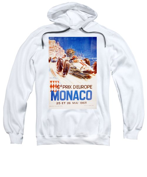 1963 F1 Monaco Grand Prix  Sweatshirt