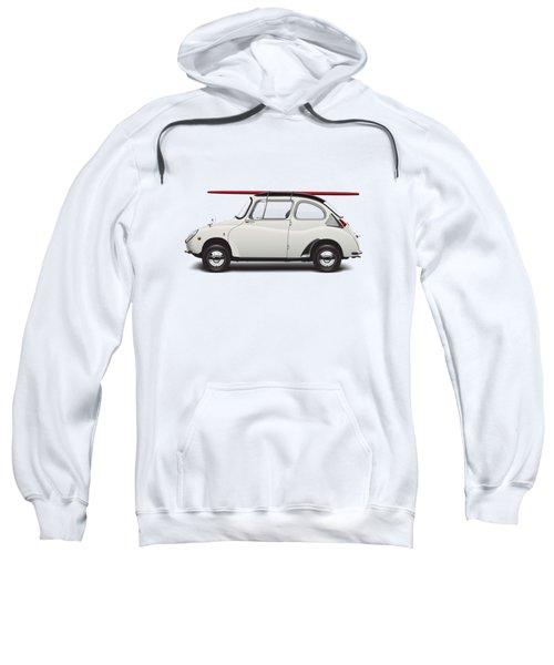 1969 Subaru 360 Young Ss - Creme Sweatshirt