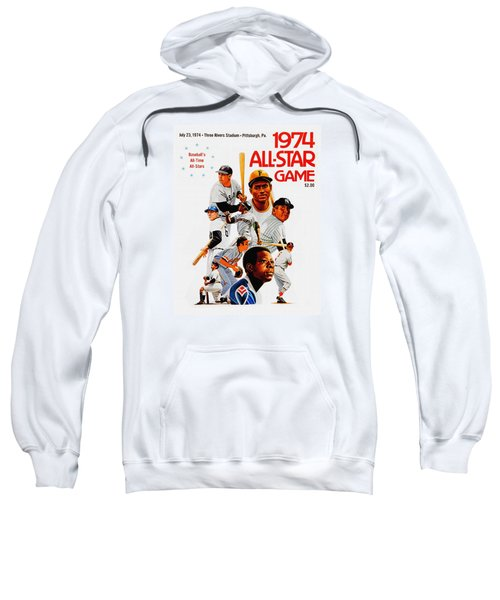 1974 Baseball All Star Game Program Sweatshirt