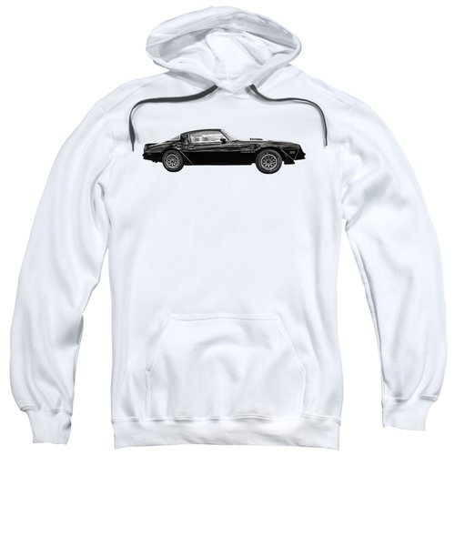1978 Trans Am In Black And White Sweatshirt