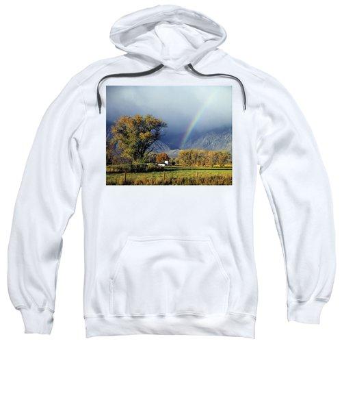 1m6345 Rainbow In Sierras Sweatshirt