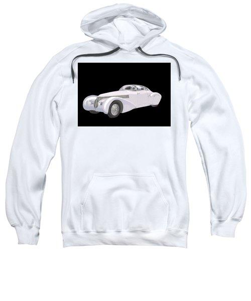 1938 Hispano-suiza H6c Saoutchik Xenia Coupe Sweatshirt