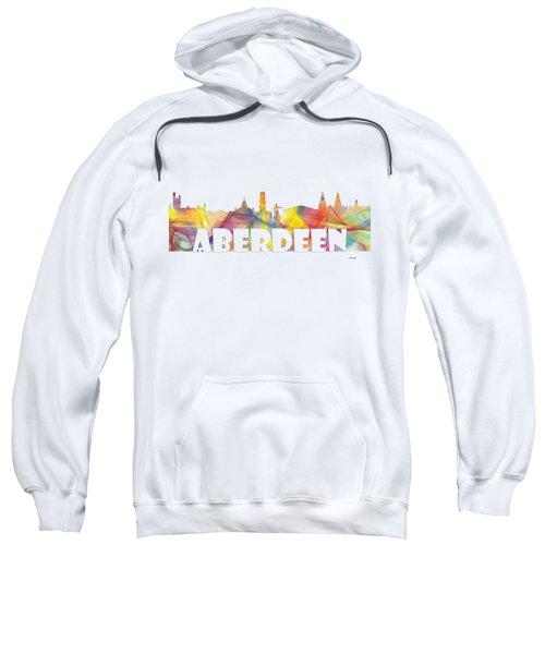 Aberdeen Scotland Skyline Sweatshirt
